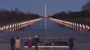 Joe Biden deltar i minnesstund