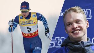 Lauri Lepistö och Iivo Niskanen