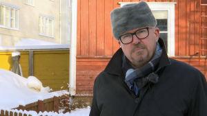 Porträttbild av stadsdirektör Ragnar Lundqvist.