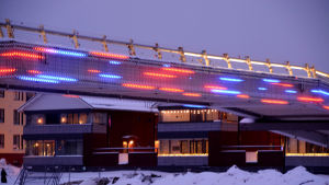 Gångbron i Borgå 2021