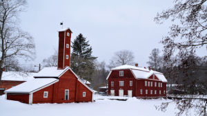 Slangboden och Hennes nåds slott i Strömfors bruk