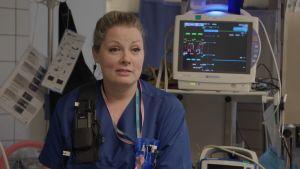 Akuuttilääkäri Iita Daavittila kuvailee vuotta poikkeukselliseksi.