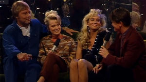 Danny ja Armi yhteishaastattelussa (1993).