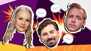 Euroviisujen 2021 chatit juontaa Essi, Gogi ja Aleksi