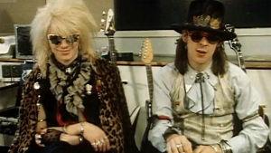 Mike Monroe ja Andy McCoy (1985).