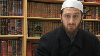 Imamen  Abdulrahman Alhout i Nürnberg.
