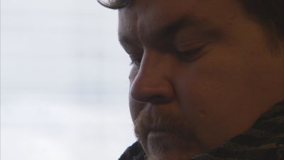 Mathias Rosenlunds profil i närbild