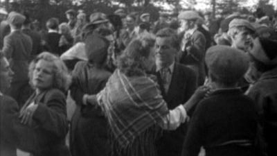 Skärmdump från filmen Juhannusyö Aavasaksalla (1946).