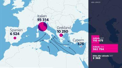 Slovenien har svart att mota flyktingvagen 1