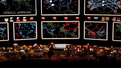 Scen från filmen War games.