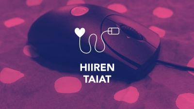 Digitreenien pääkuva. Tekstit: Hiiren taiat, Digitreenit, yle.fi/oppiminen. Valokuvassa tietokoneen hiiri.