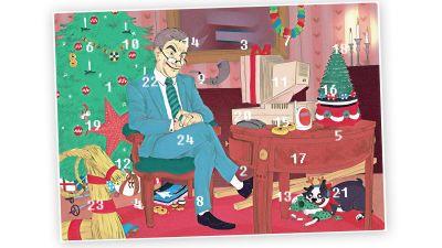 stor och liten julkalender