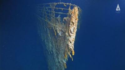 Titanic, vrak.