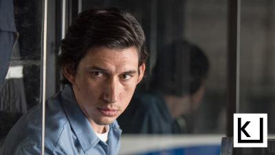 Adam Driver bussikuskina Paterson-elokuvassa.