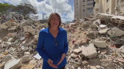 Lynn Hastings arbetar för FN och granskar läget i Gaza efter elva dagars bombningar 22.5.2021
