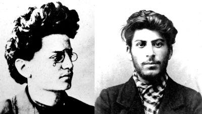 Trotskij 26 år, Stalin 24 år
