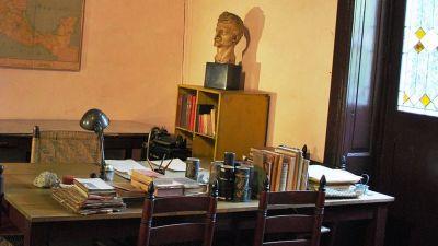 Trotskijs arbetsrum i Mexico City