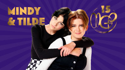 Mindy & Tilde poserar