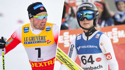 Emil Iversen och Maren Lundby.