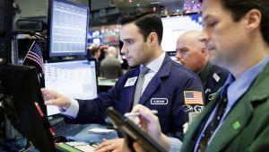 New York-börsen den 4 december 2017.
