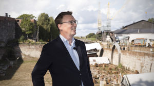 Petteri Takkula, utvecklingschef, Sveaborgs styrande organ.