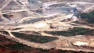 Kobolttikaivos Kongossa.