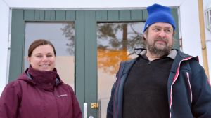 Annika Jordman och Kjell Widlund.