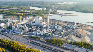 Metsä Groups fabrik i Äänekoski