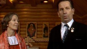 Pariskunta kertoo ortodoksisuudestaan