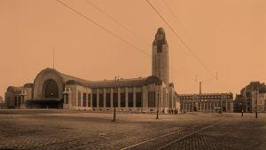 Helsingin päärautatieasema 1914-19