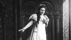 Oopperalaulaja Aino Ackté vuonna 1898