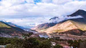 Bild från Yunnan-provinsen i Kina