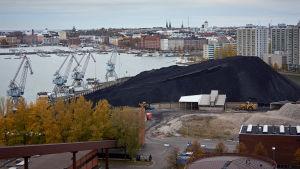 Kolkraftverket på Hanaholmen i Helsingfors.