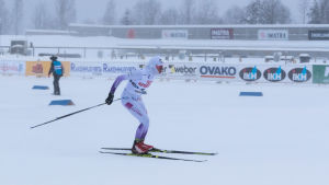 Katri Lylynperä var starkast på upploppet.