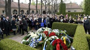 Mauno Koivistos begravning i Helsingfors den 25 maj 2017.