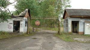 Övergiven sovjetisk militärstad