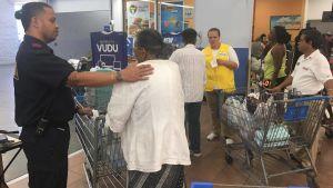 Butikskvitton granskas i Miramar
