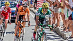 Espanjan ympäriajon kilpailijoita