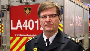 Lapin pelastusjohtaja Martti Soudunsaari.