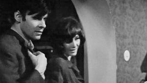 Rune Sandlund och Lilga Kovanko i filmen Förlovningsfesten från 1968.