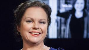 Ann-Luise Bertell i programmet Daniel Olin i oktober 2020.