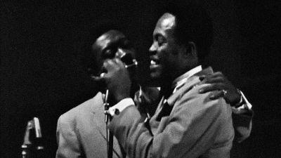 Sam & Dave esiintymässä Helsingin Kulttuuritalolla 1967.