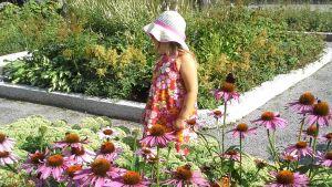Taget vid barnbarnens favoritlekpark på skolhusgatan i Vasa. Foto Christina Mattsson