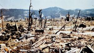 Hiroshima pommituksen jäljiltä