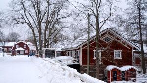 Restaurang Brukskvarnen i Strömfors bruk