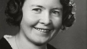 Sally Salminen på 1930-talet.