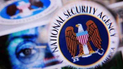 Emblem för NSA:s  underrättelseverksamhet