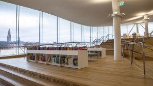 Helsingfors nya centrumbibliotek Ode.