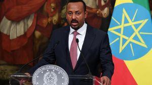 Etiopian pääministeri Abiy Ahmed Ali.