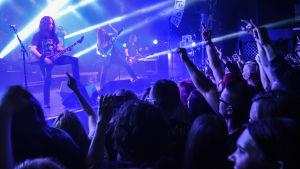 Children of Bodom spelar på Circus i Helsingfors 2017.